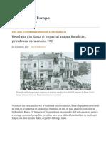 Revoluția Din Rusia Și Impactul Asupra României, Primăvara-Vara Anului 1917