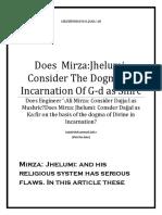 Does  Mirza:Jhelumi