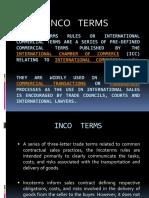 Presentation - Inco Terms