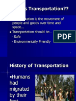 Transportation -Ppt Intro Final