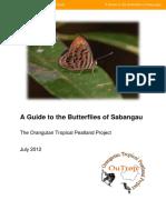 The Guide to Butterflies of Sangbangau