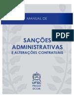 Manual de Sanções Administrativas e Alterações Contratuais