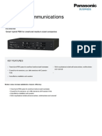 DataSheet KX NS700