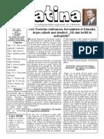Datina - 14.08.2019 - prima pagină