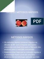 Evento 2012 - Palestra Tipos de Metodos Rapidos Sr Claudio Hirai.ppsx