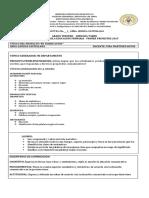 UNIDAD DIDACTICA I TRIMESTRE 3° ESPAÑOL (1)