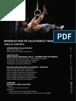 Caliathletics Beginner Guide