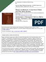 Reis - Candomblé in Nenteenth-Century Bahia. Priests, Followers, Clients