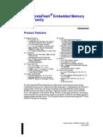 StrataFlash P30-T Data Sheet