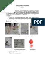 Practica de Laboratorio Lipidos