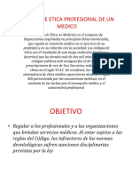 Codigo de Etica Profesional De Un Medico