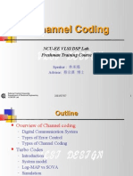 Freshman Training - Channel Coding