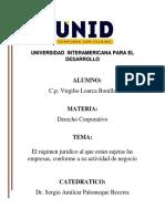 Derecho Corporativo - Sesión 12