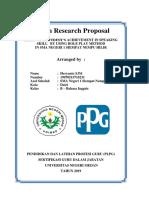 8 Action Research Proposal Heryanto Sinaga