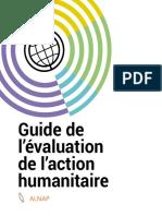 Guide de l'Évaluation de l'Action Humanitaire 2017