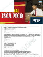 Isca Question Bank