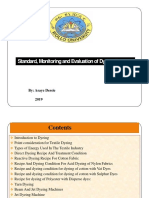 standard monitoring evaluation of dyeing process