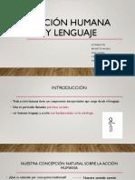 Acción humana y lenguaje