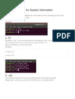 40+ most used Ubuntu 18.04 Commands