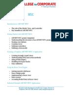 PDF Mvc Courses Syllabus