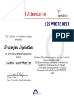Sixsigma-white Belt (1)