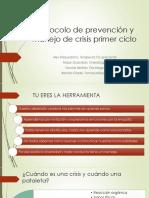 Protocolo Prevencion y Manejo Crisis
