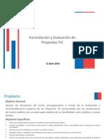 Presentacion proyectos TIC