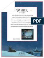 Dasher by Matt Tavares Activity Kit