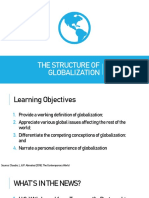 [1] the Structure of Globalization
