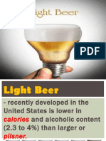 Bartending Light Beer