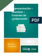 4-1 Representación_Mandato_Contrato de Colaboración