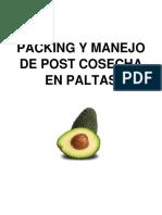 Post Cosecha Paltas