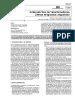 Ntp-1083m Gruas Portico