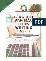 Tong Hop 37 Bai Mau Writing Task 2 - Ieltsnguyenhuyen