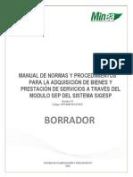 Manual de Normas y Procedimientos Sep
