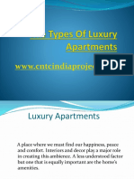 The Types Of Luxury Apartments.pptx