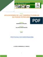 Metodología de Tuberías Flexibles