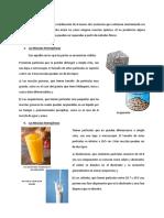 Informe de Quimica Las Mezclas