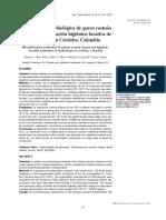 Valoración microbiológica de queso costeño artesanal y evaluación higiénico-locativa de expendios en Córdoba, Colombia