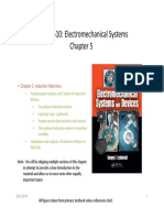 Electromechanical systems ch 5