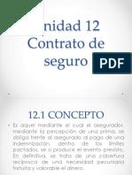 Unidad 12 Contratos de seguro