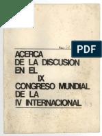 PRT-La Verdad, Acerca de la discusión en el IX Congreso Mundial de la IV Internacional (3rd USec congress, abril 1969).pdf