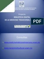 Biblioteca Digital Medicina Tradicional Mexicana