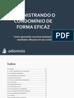 eBook Administrando o Condomínio de Forma Eficáz Versão2