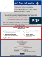 The CTPU Peoples Town Hall To Protect Children and Taxpayers