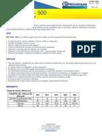 PRO DUR - 500  (V.01)