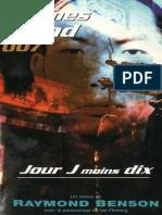 26 Jour J Moins Dix - James Bond -Raymond Benson