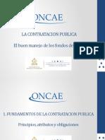 Fundamentos de La Contratación Pública