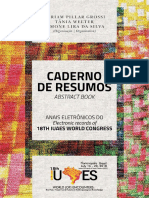 IUAES 2018- Caderno de Resumos