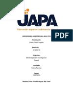 Tarea II Metodologia De La Investigacion I